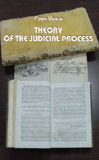 Theory of the judicial process